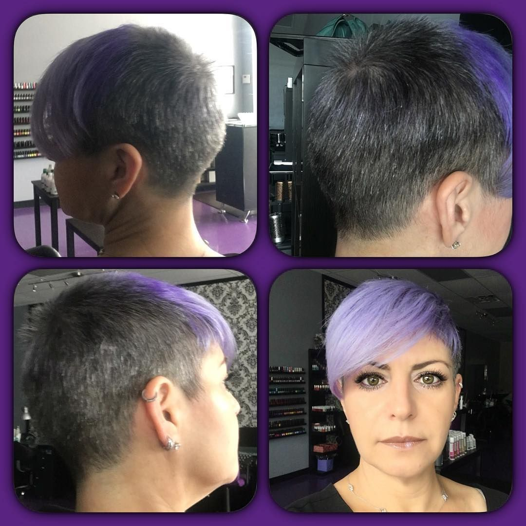 Yoablond chickfades undercuts side cuts and shaved sides