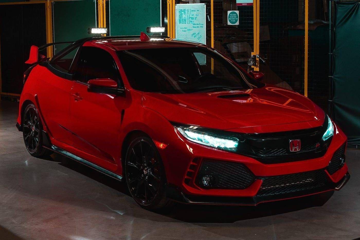 Honda transforma Civic Type R em picape imagens