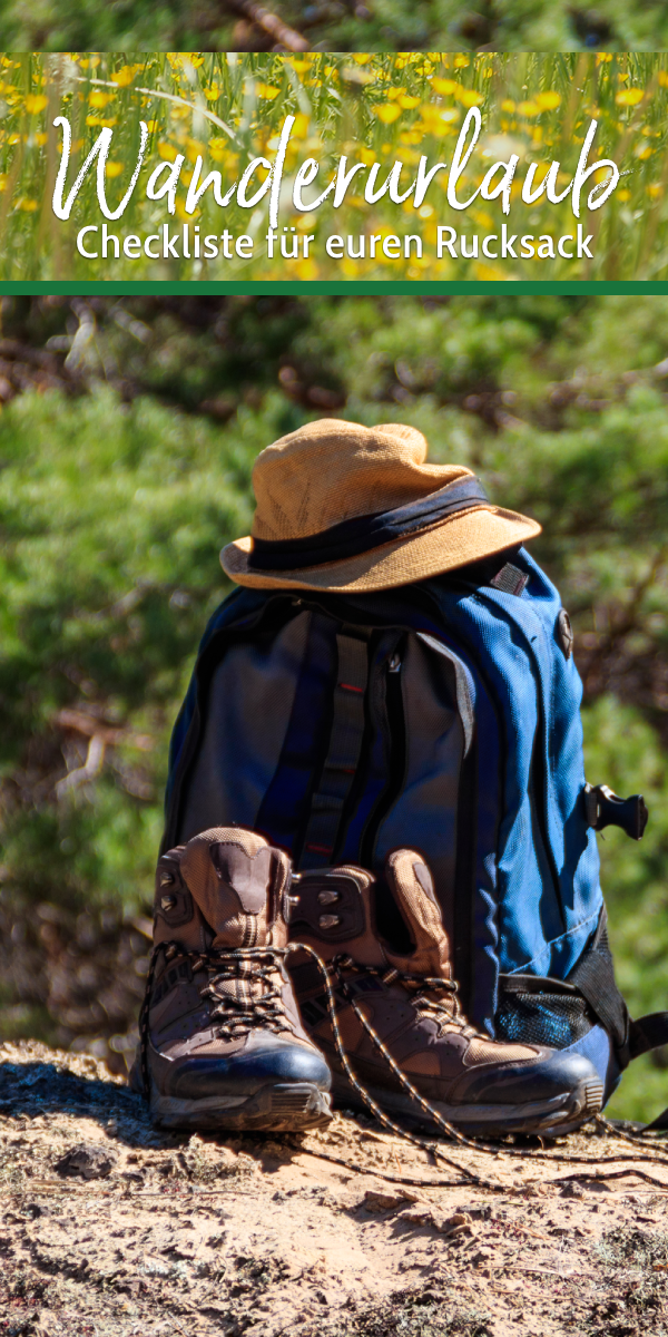 Photo of Checklist hiking vacation – that must be in your backpack