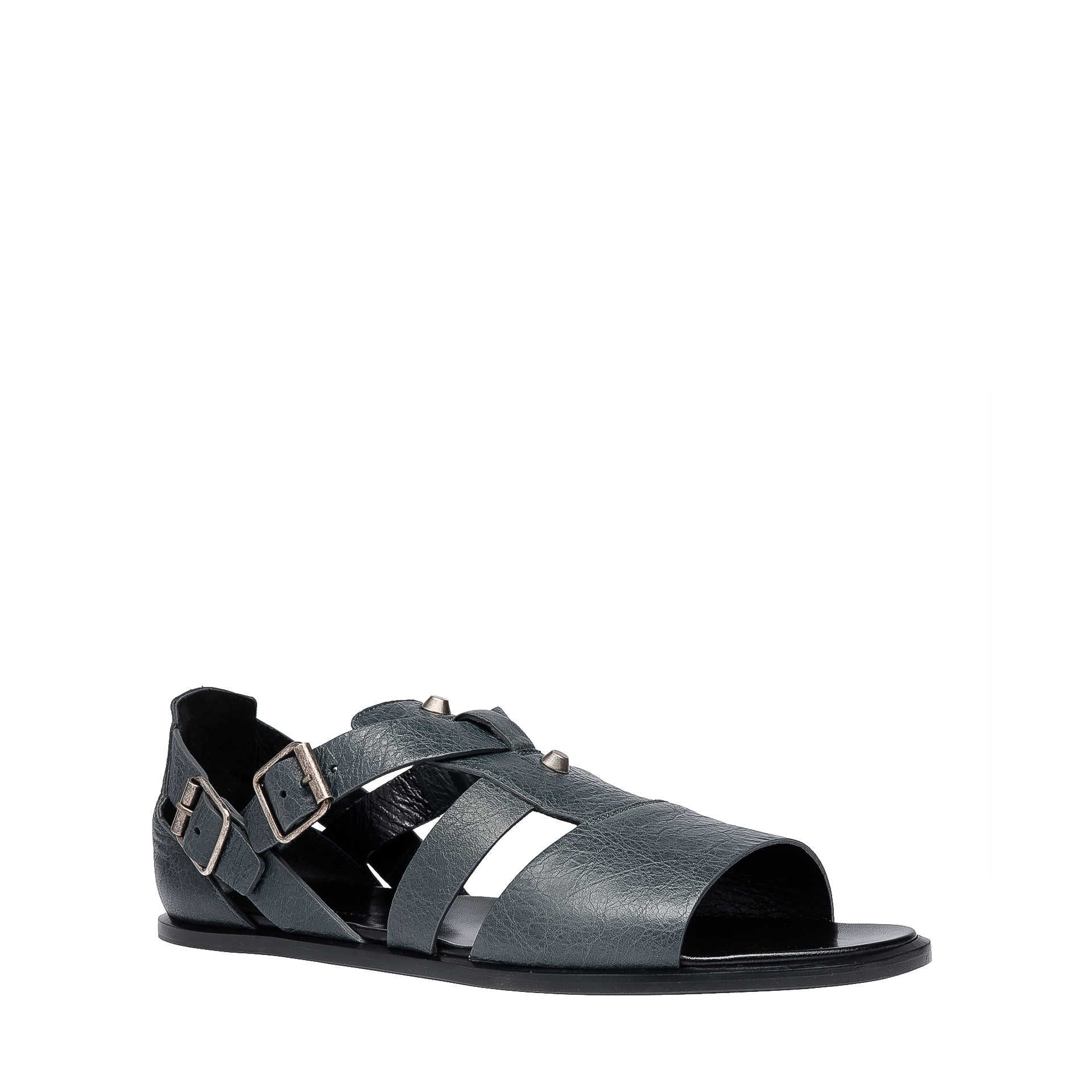 Anthracite Balenciaga Arena Sandals Men S Shoes