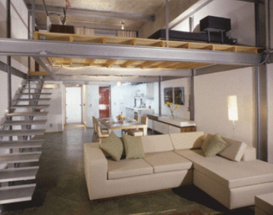 Construir Casa Tipo Loft 1 Planta Suficiente Terreno Con 3 Recámaras 2 1 2 Baño Casa Tipo Loft Apartamento Tipo Loft Pequeños Apartamentos De Tipo Loft