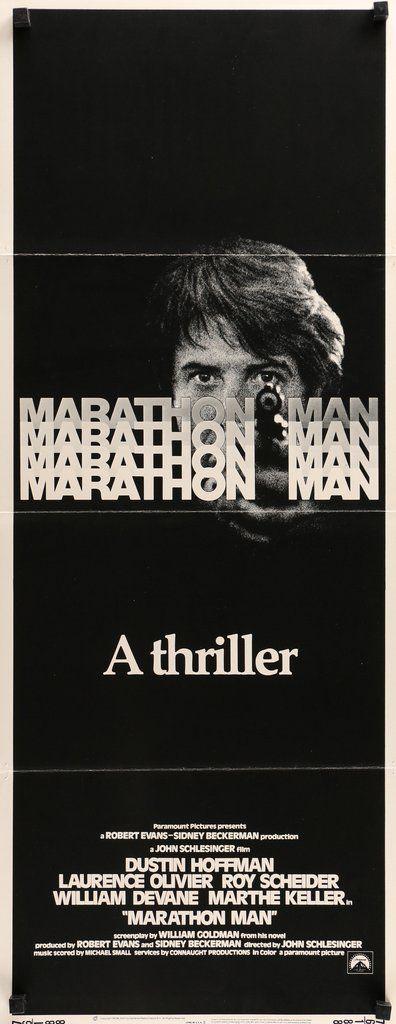 Marathon Man (1976) Vintage Insert Movie Poster - 14\