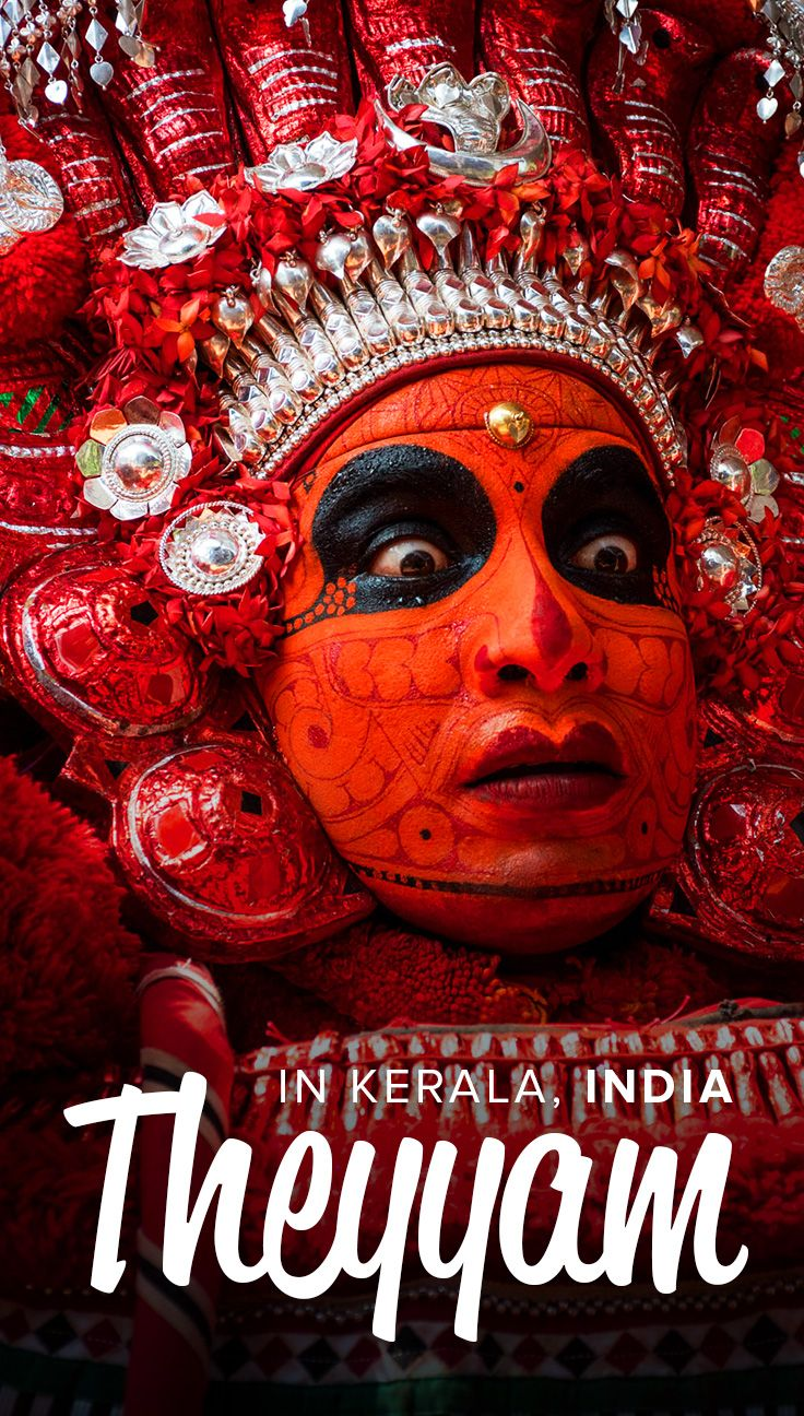 Dance of gods: where to see Theyyam in Kerala, India ...