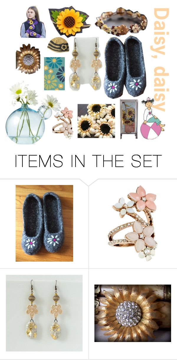 """""""Daisy , daisy give me your answer do ...."""" by belinda-evans on Polyvore featuring art"""