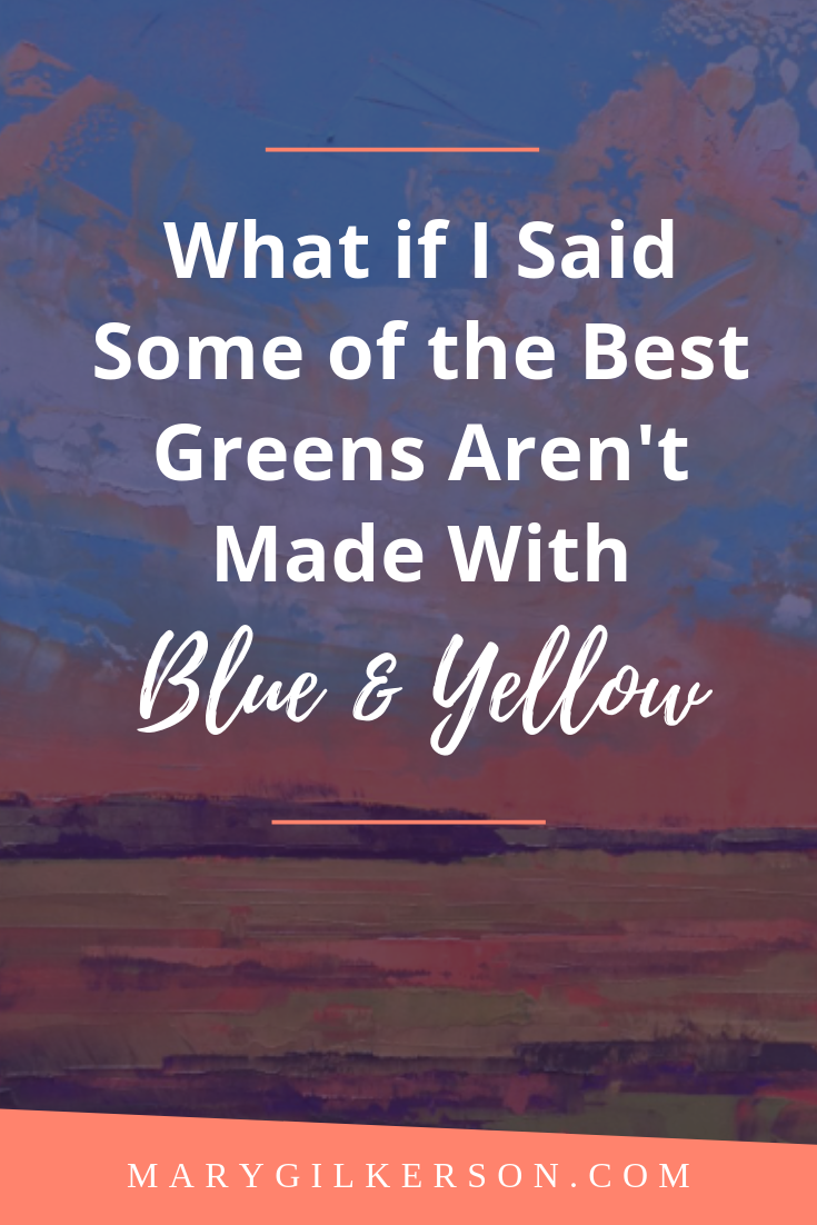 It's Not Just About Blue And Yellow