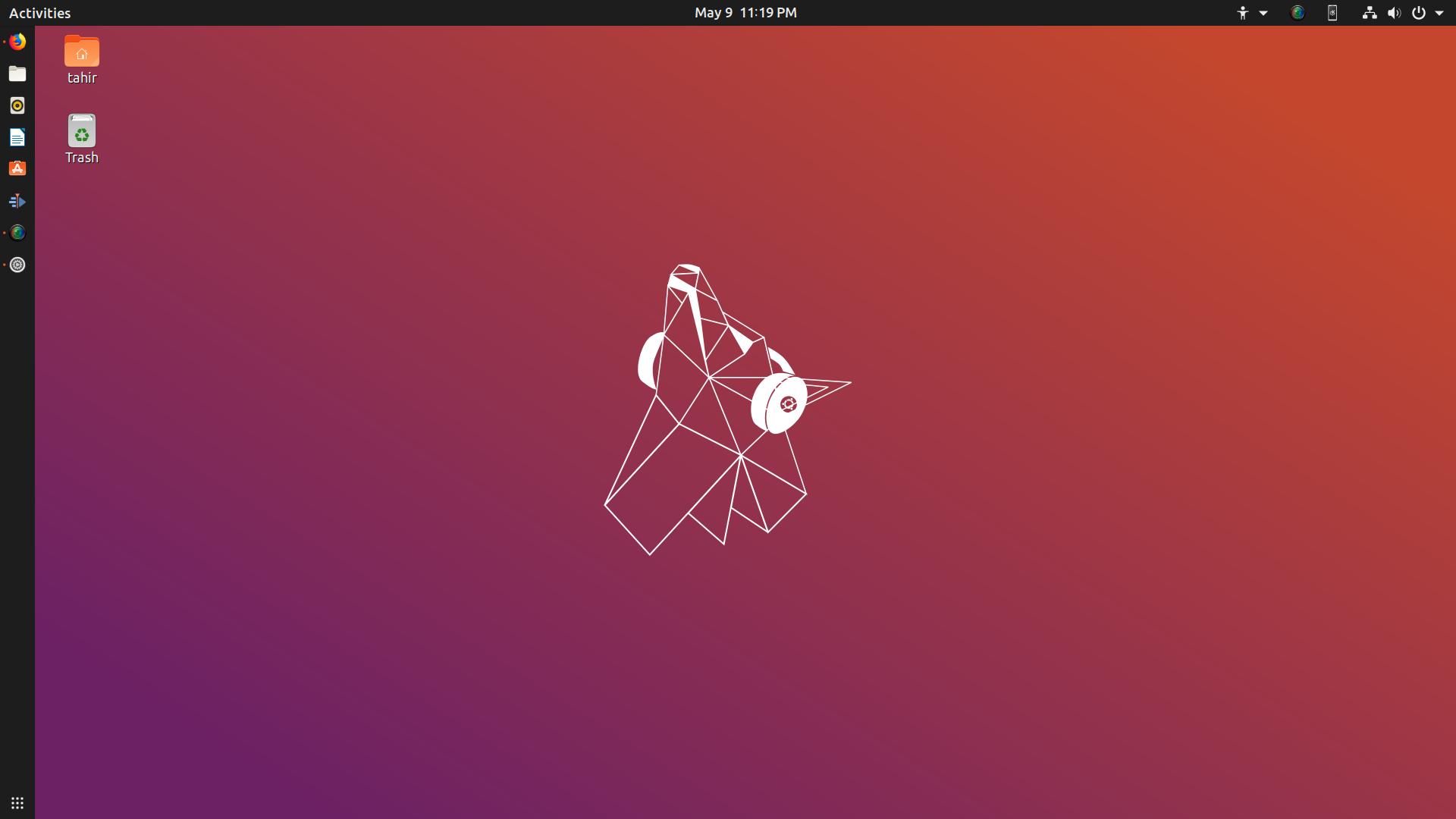 Ubuntu 19 04 Disco Dingo Desktop Wallpaper Wallpaper Desktop Wallpaper Picture Folder