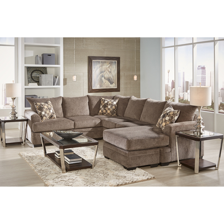 Best 7 Piece Kimberly Sectional Living Room Collection Living 400 x 300