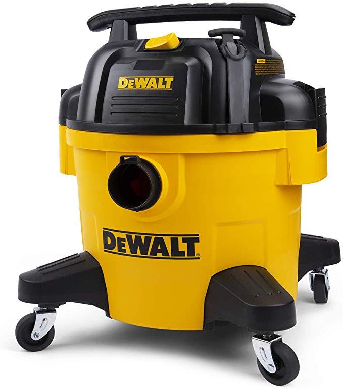 DeWALT DXV06P 6 gallon Poly Wet/Dry Vac, Yellow Amazon