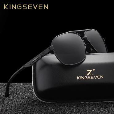 eeb9194ba912c KINGSEVEN New Aluminum Brand New Polarized Sunglasses Men Fashion Sun  Glasses Travel Driving Male Eyewear Oculos