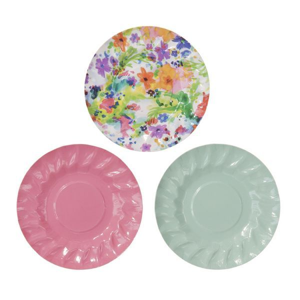 Floral Fiesta Mini Canape Plate