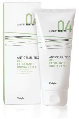 Anticelulítico, gel exfoliante ducha