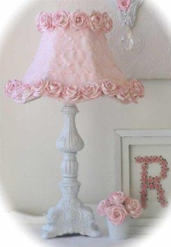 Amazon.com: A Vintage Room Rose Petal Lamp Shade in Cream: Home &