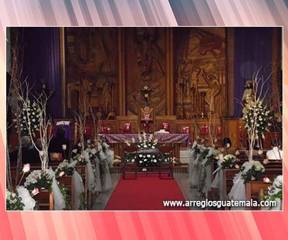 Arreglos Florales Para Iglesias Flores Iglesia Arreglos