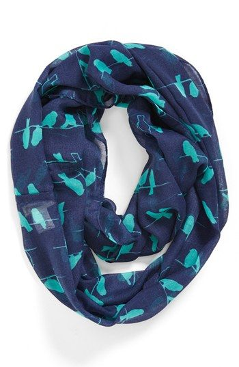 Tucker   Tate Print Infinity Scarf (Girls) available at #Nordstrom