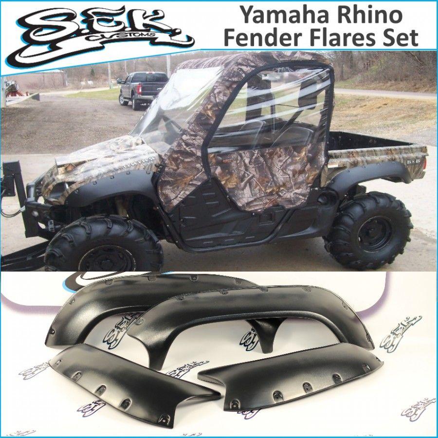 Yamaha Rhino Yxr 450 660 700 Fender Flares In 2020 Fender Flares Rhino Yamaha