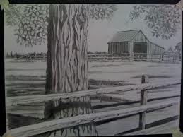 scenic pencil sketches - Google Search