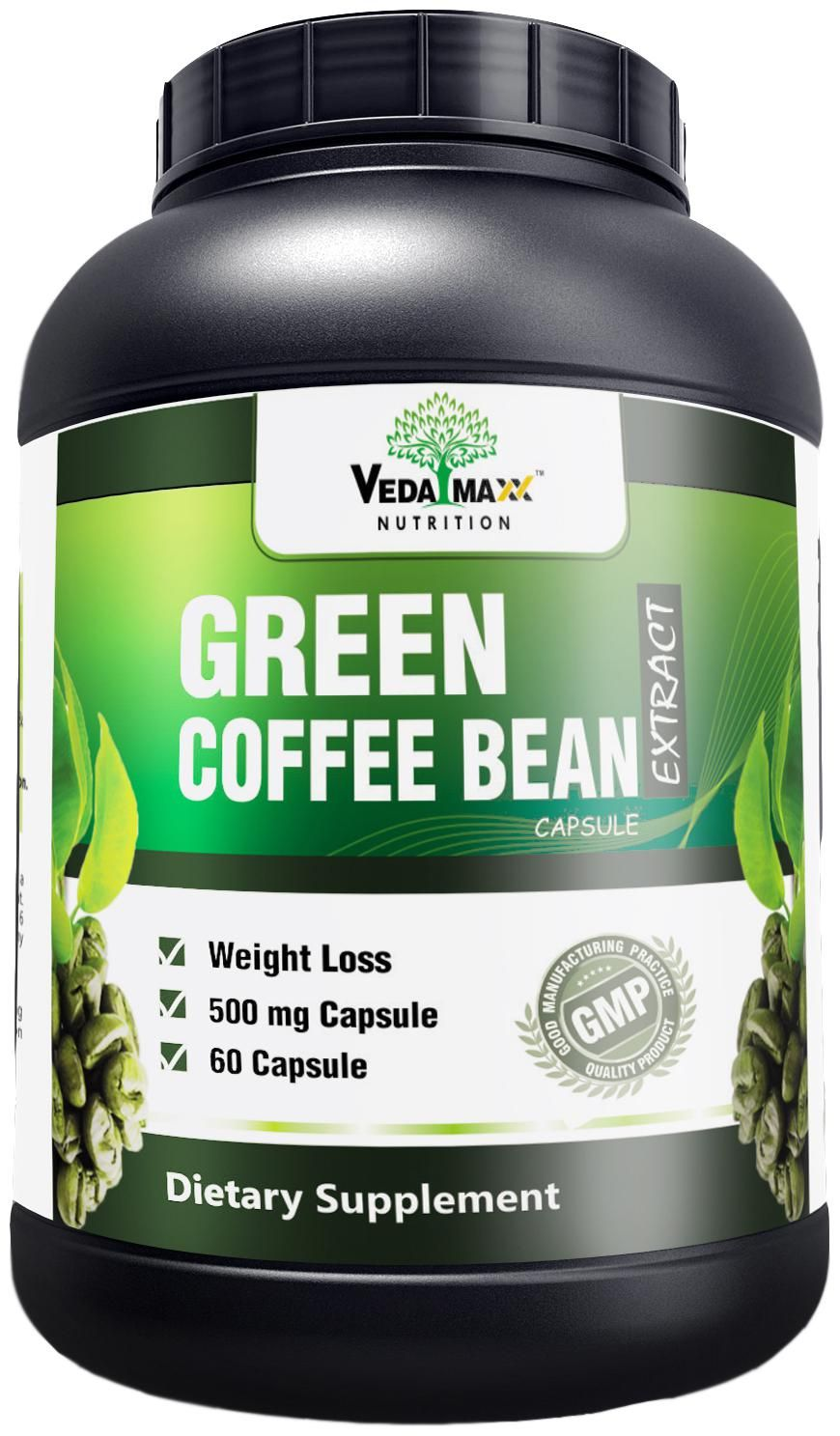VEDA MAXX Green Coffee Beans Extract 500 mg Green coffee