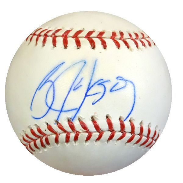 Bo Jackson Autographed MLB Baseball Kansas City Royals PSA/DNA #6A73155