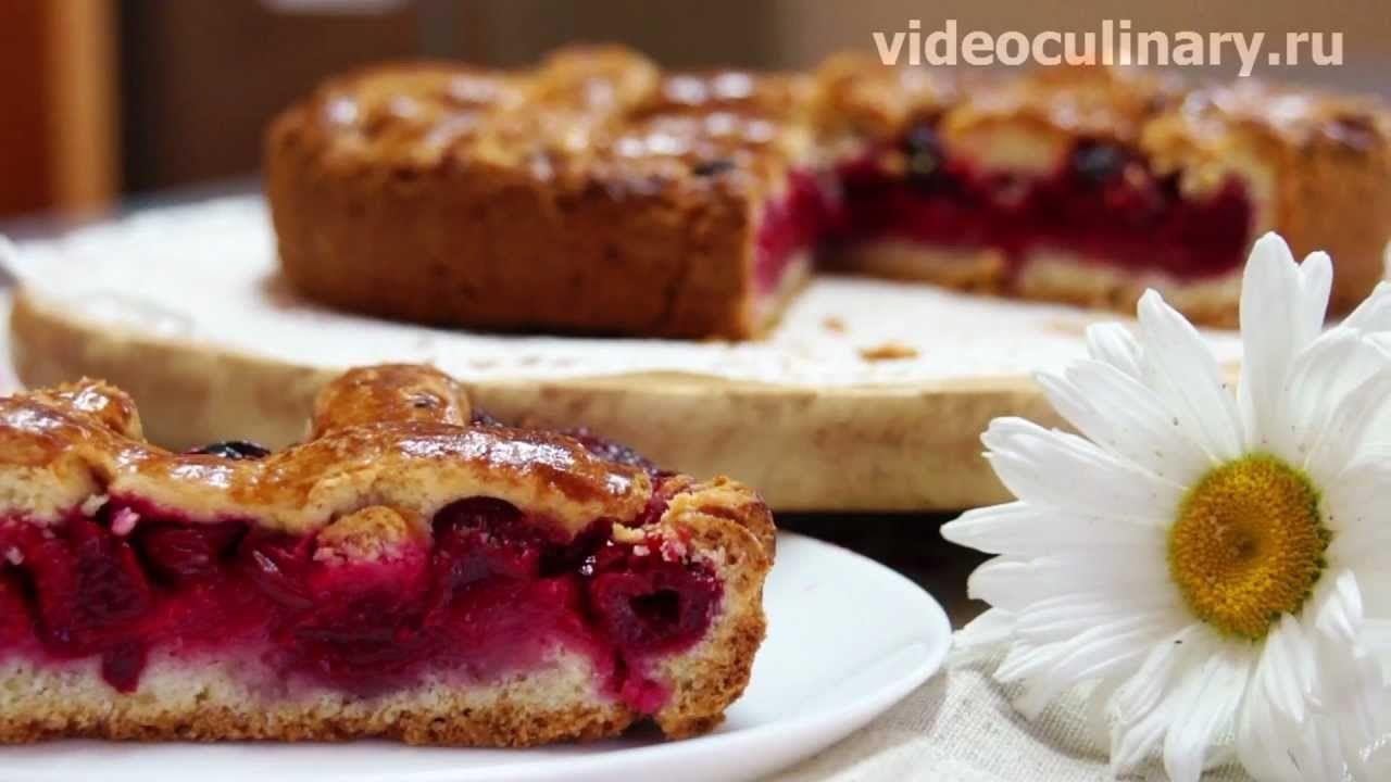 кекс с вишнями-израил кухня