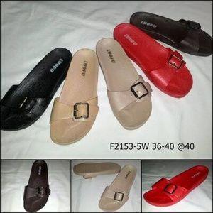 a6215f3e3cb8 sandal selop karet luofu LF2153 Birkenstock