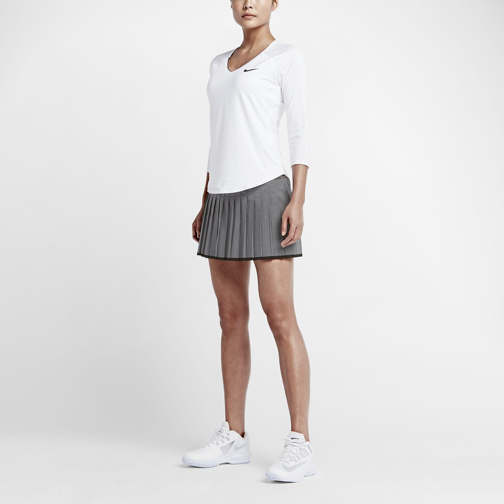 Nikecourt Pure Women S Tennis Top Womens Tennis Tops Tennis Tops Womens Tennis Skirts