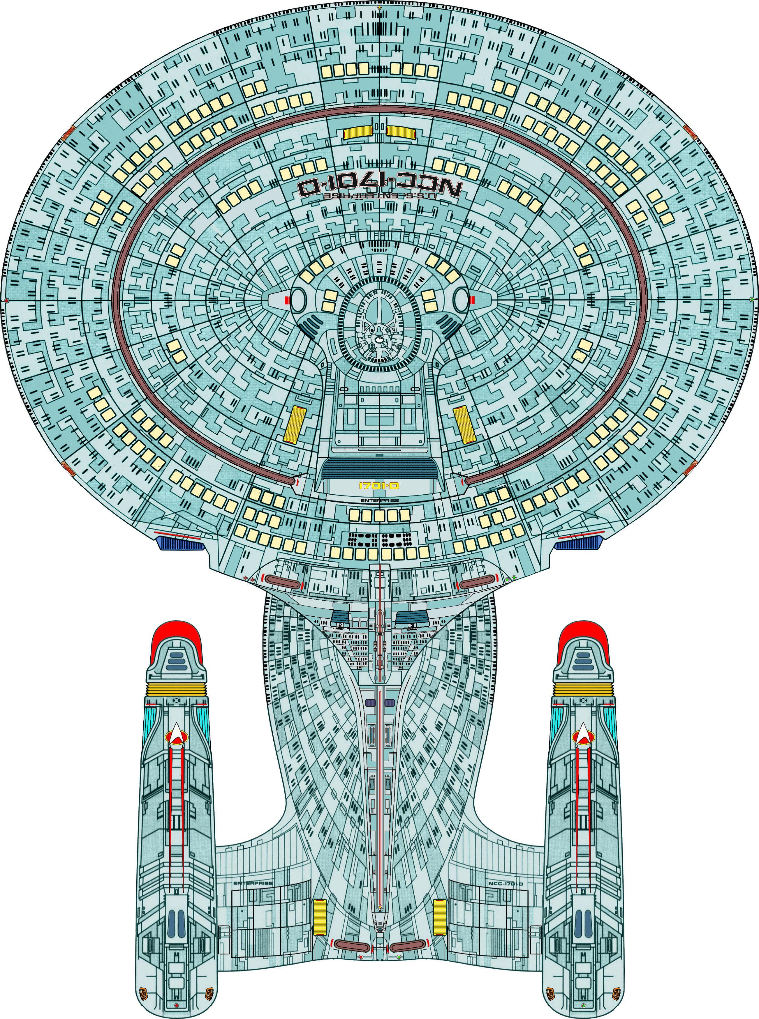 Uss Enterprise Ncc 1701 D : enterprise, Dorsal, U.S.S., Enterprise, NCC-1701, Ciencia, Ficcion,, Trek,, Mejores, Series