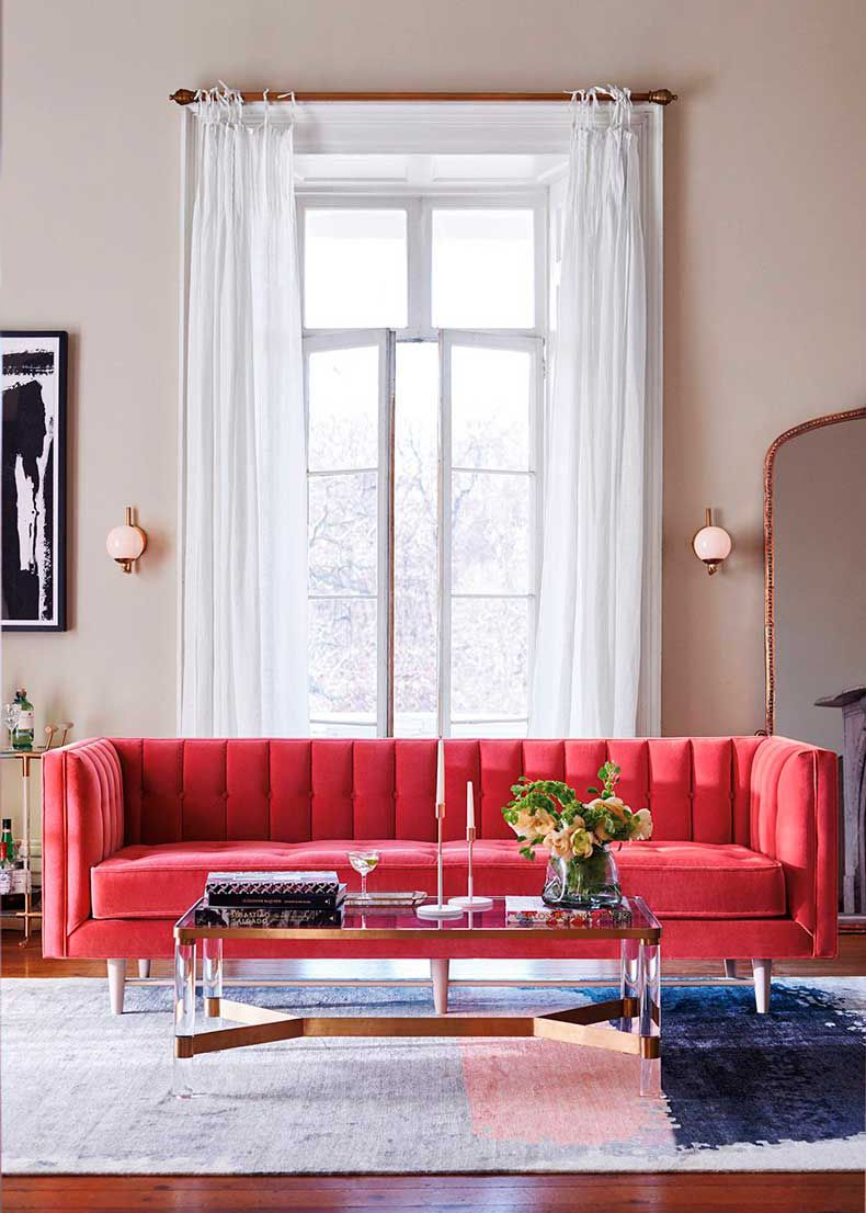 roundup 16 of the best colorful couches decor u2022 living room rh pinterest cl