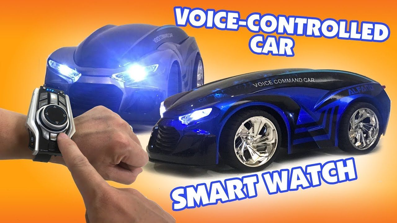 Smart Watch Voice Controlled Rc Car With Smartwatch 2019 2nd Generation From Maxfun Toys Unboxing Review Digital Watches Smart Watch Voice Control The Voice