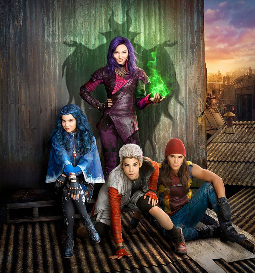 It S Official A Descendants Sequel Is In The Works Disney Descendants Movie Disney Channel Movies Disney Channel Descendants