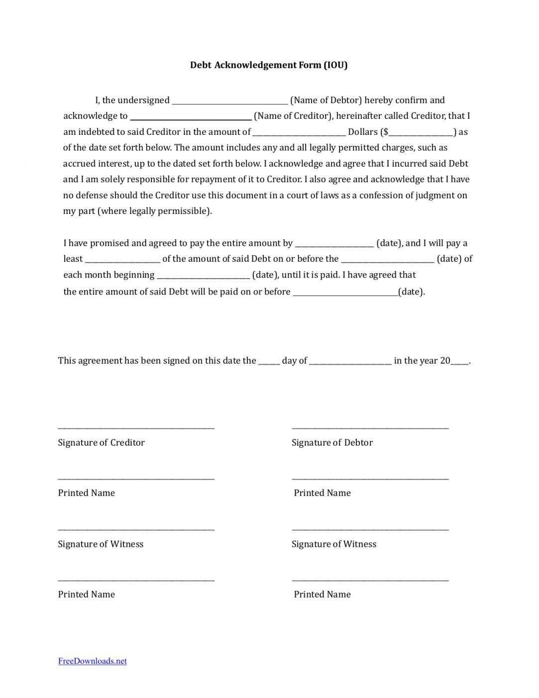Browse Our Example Of Money Owed Agreement Template For Free Letter Templates Lettering Templates
