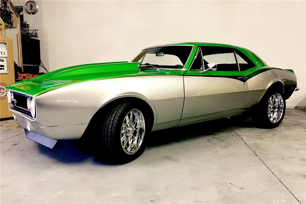 67 Chevrolet Camaro Custom Coupe Becausess Paint Is House Of