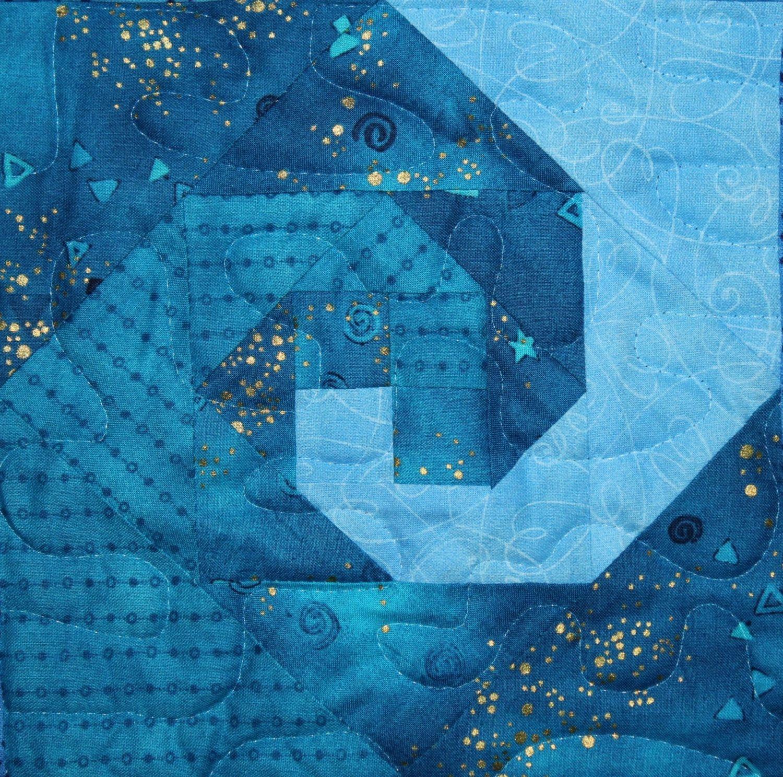 Ocean Waves Downloadable Quilt Pattern