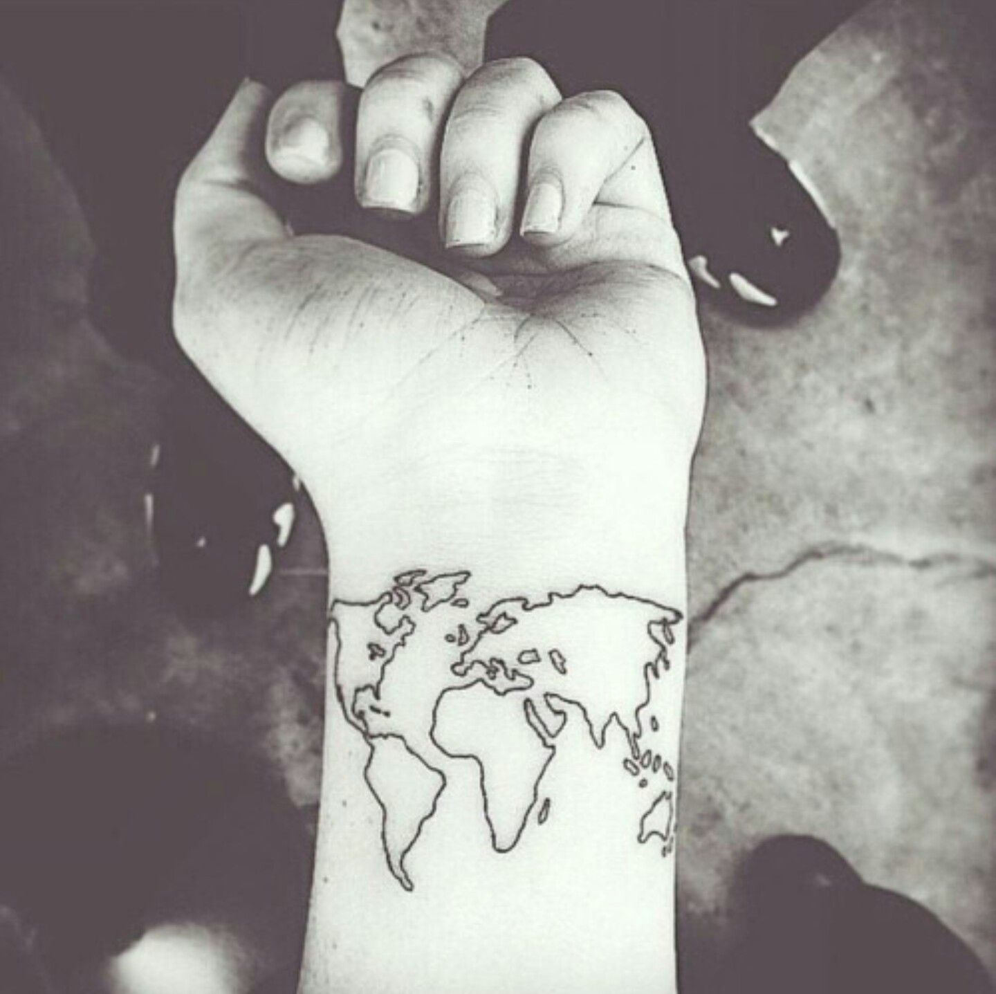 Pin by ainhoa martinez on tatuajes pinterest explore world map tattoos ankle tattoos and more gumiabroncs Image collections