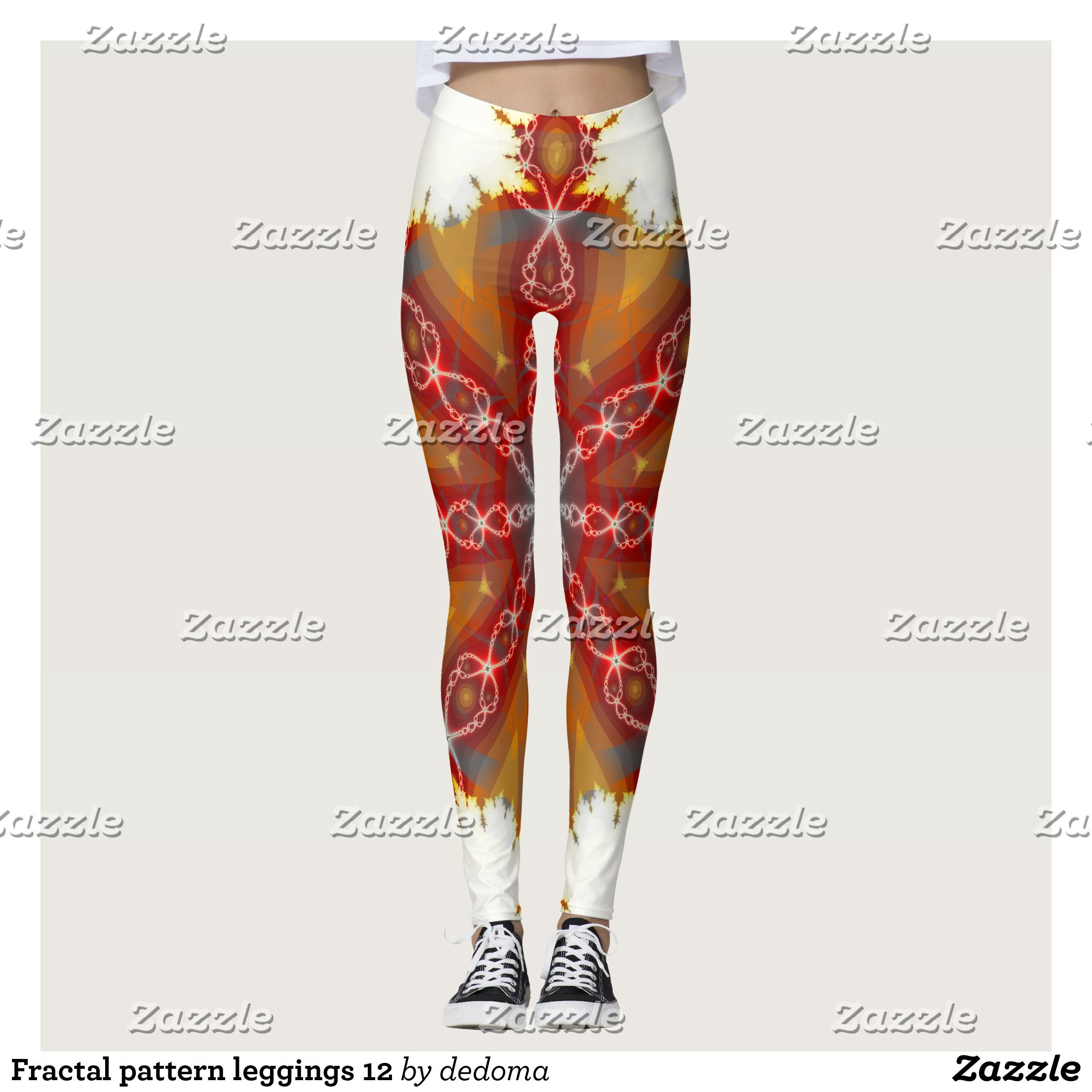 Fractal Pattern Leggings 12 Fractal Patterns Pattern Leggings And