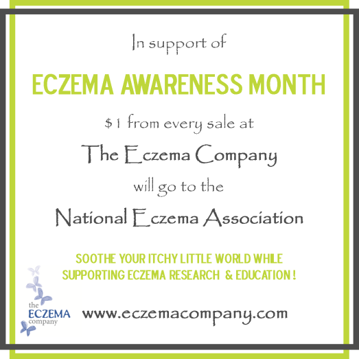 Purchase some great eczema products and help fund research for a cure. Not a bad deal!