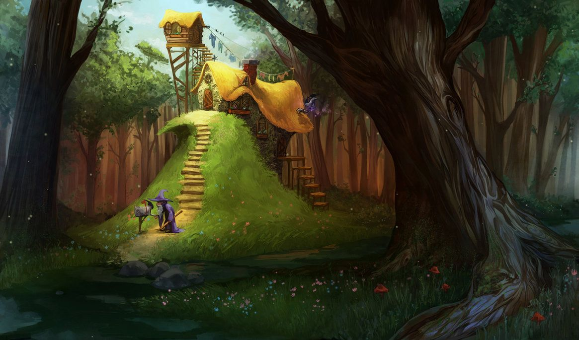 wizards cottage - Google Search