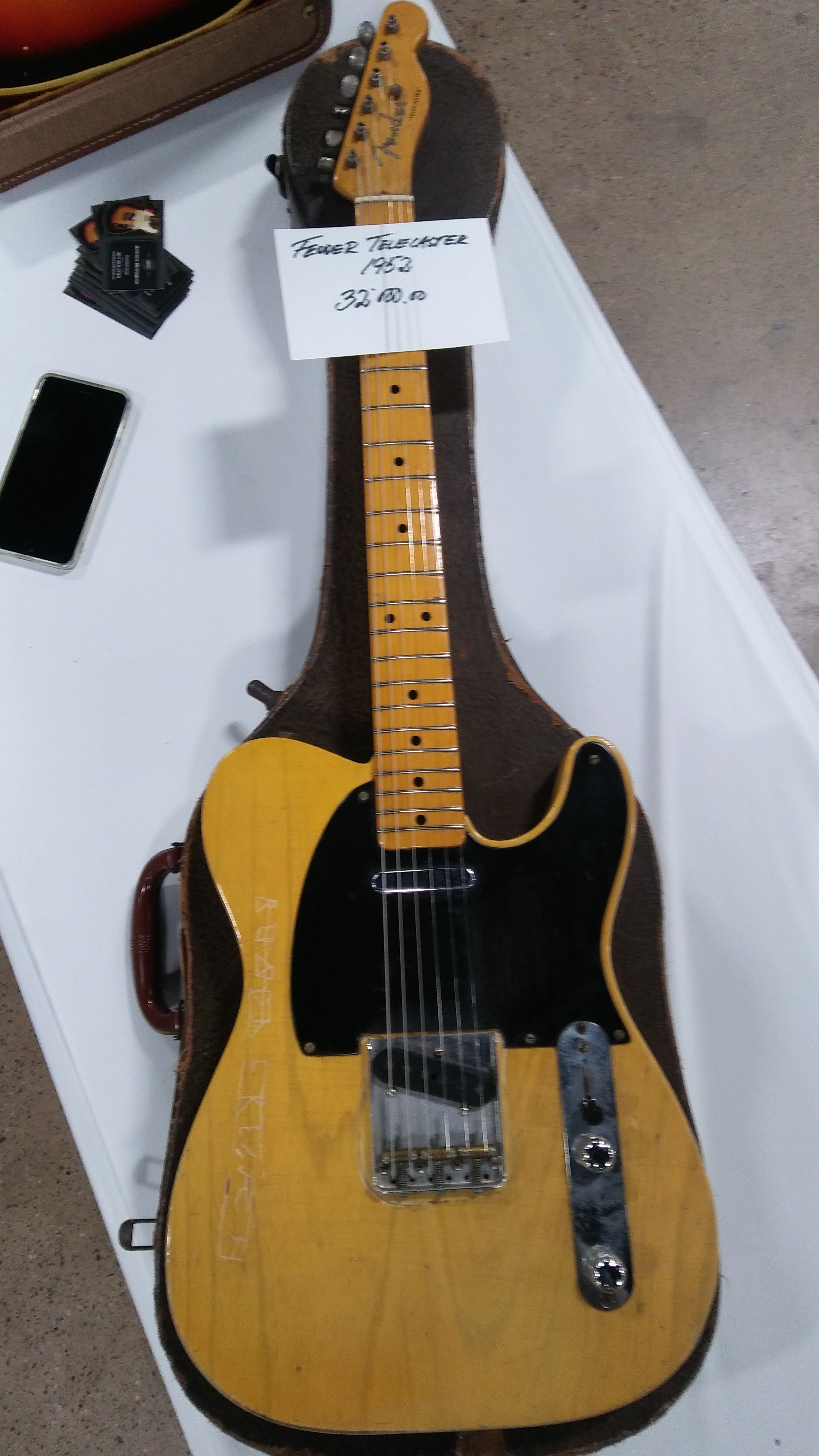 1952 Fender Telecaster Guitar Fender Guitar Fender Guitars Fender Vintage