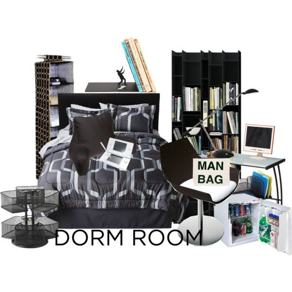 Buy Man Cave Essentials : Man cave dorm by krystalbay on polyvore featuring