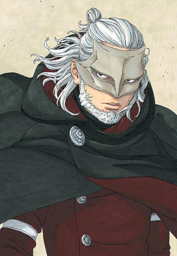 Kashin Koji | Ilustração de personagens, Anime, Jiraya
