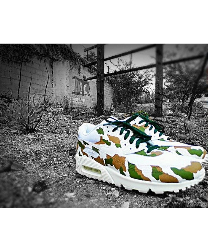 buy popular 3ae05 d5d63 Nike Air Max 90 Essential Breathe White Green Black Shoes Sale   nike-air- max-90   Pinterest   Nike air max, Nike and Air max