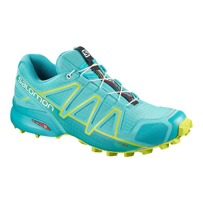 Salomon Women's Speedcross 4 Trail Running Shoes Blue