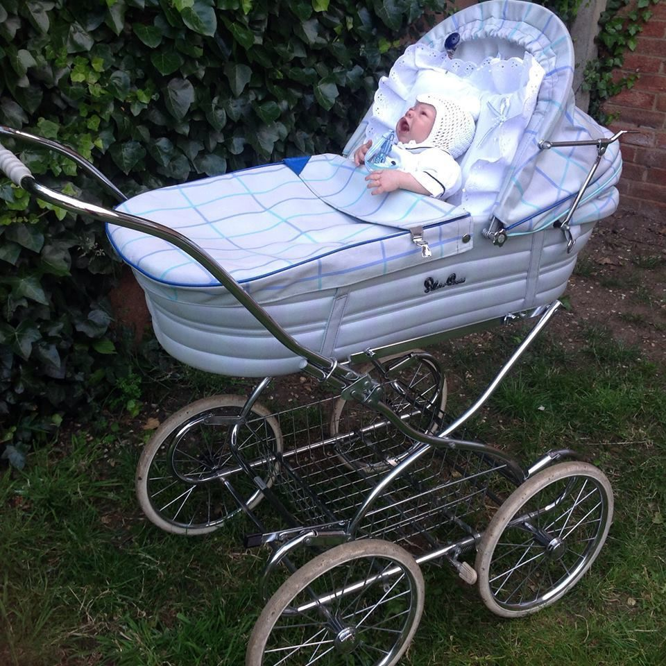 Silver Cross Pushchairs On Ebay Silver Cross Baby Pram Ebay Vintage Baby Carriages From