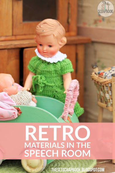 I'm sure we have all some retro speech therapy materials lying around at the back of our cupboards! Head over to our blog to see what hilarious things I've found and how you can join me in sharing your pictures too!