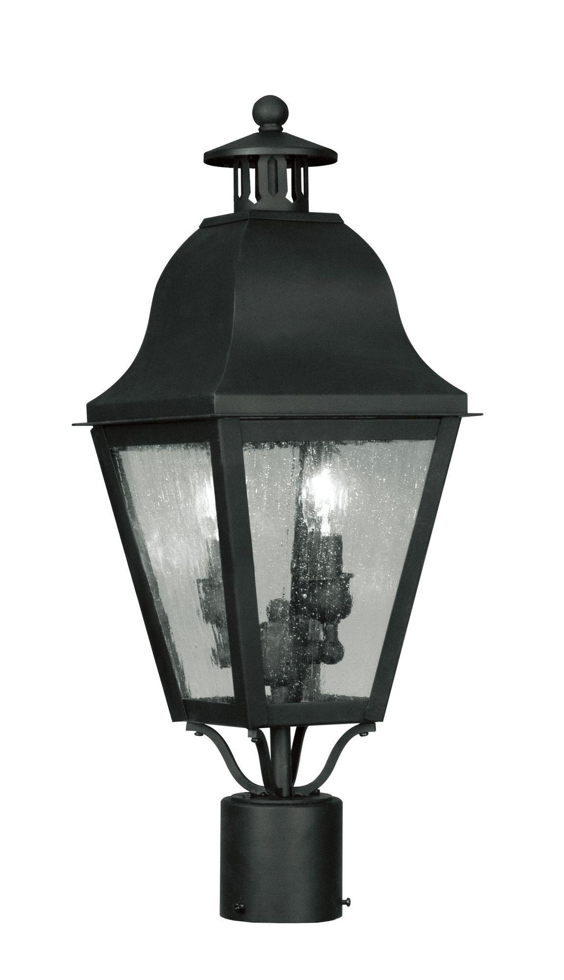 Amwell Outdoor Post Lantern