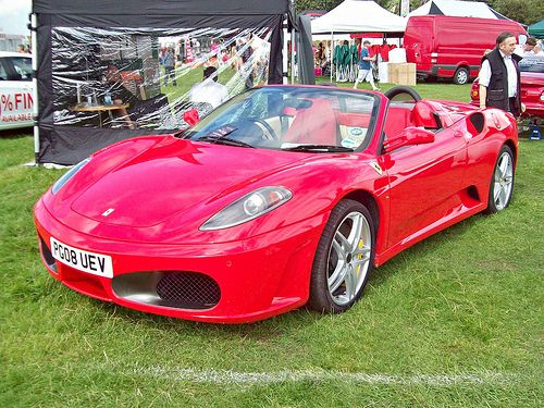 86 Ferrari F430 Spider F1 2008 Modelos