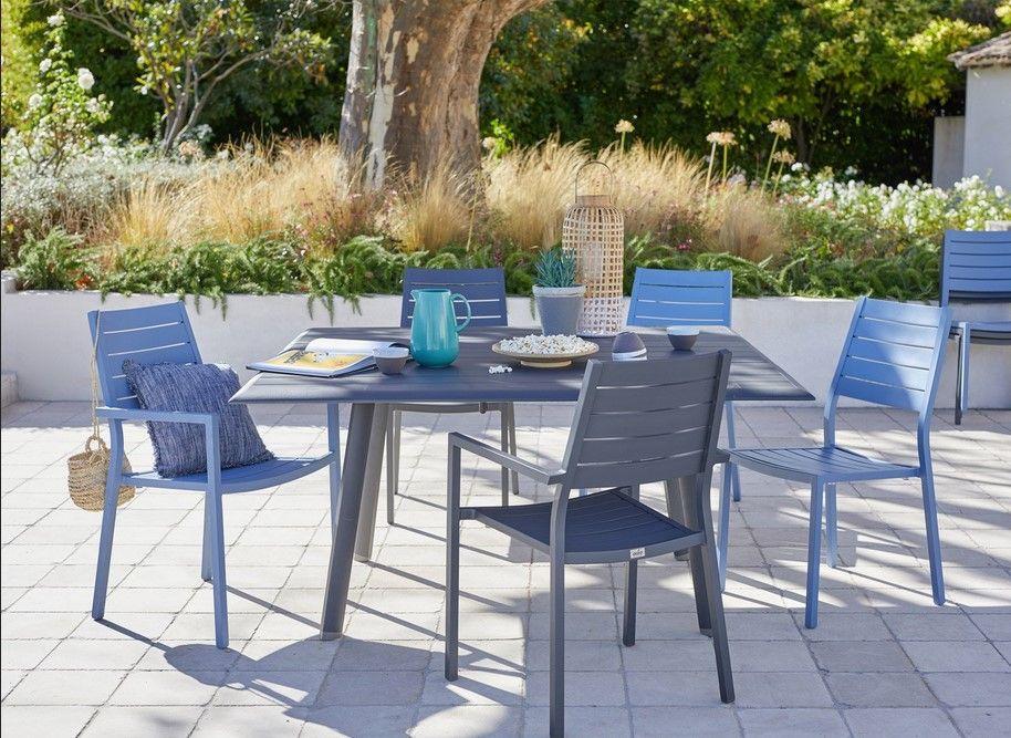 table de jardin sevilla carr e 4 8 personnes meubles pas cher pinterest table de jardin. Black Bedroom Furniture Sets. Home Design Ideas