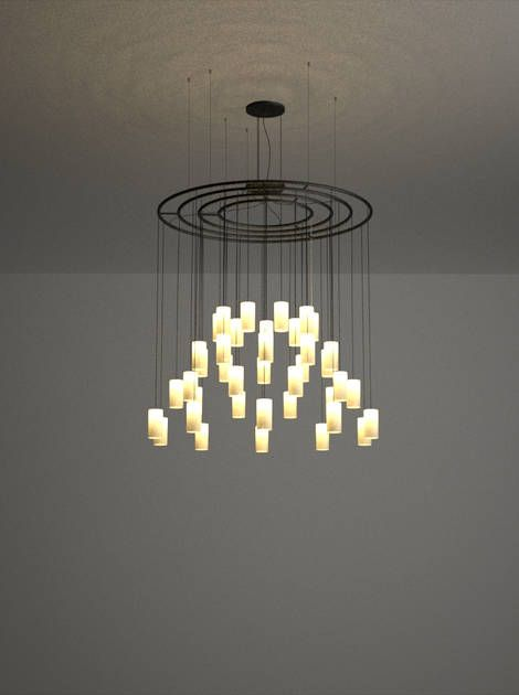 Cirio chandelier light antoni arola studio