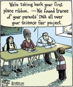 Mad Scientist #middlechildhumor