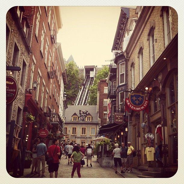 Je voudrais bien habiter a Quebec! :3