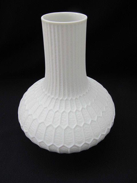 70er jahre f rstenberg wei e op art porzellanvase vintage vases white vases porcelain ceramics